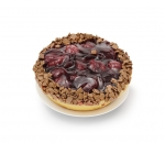 Tartlet chocolate and sour cherries