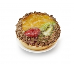 Tartlet chocolate and fruit