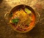 Khao Soi Coconut curry noodle soup with beef or chicken