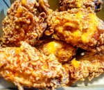 Chilli-fried wings
