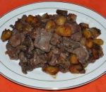 137. Beef with potatoes