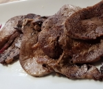 Veal liver with Brandy