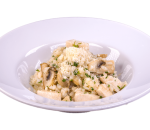Risotto with chicken and wild mushrooms
