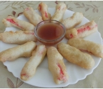 215. Fried crab rolls
