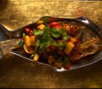 Fried Sea Bream with sweet and sour sauce