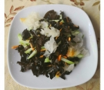 10. Salad of two types of Chinese mushrooms