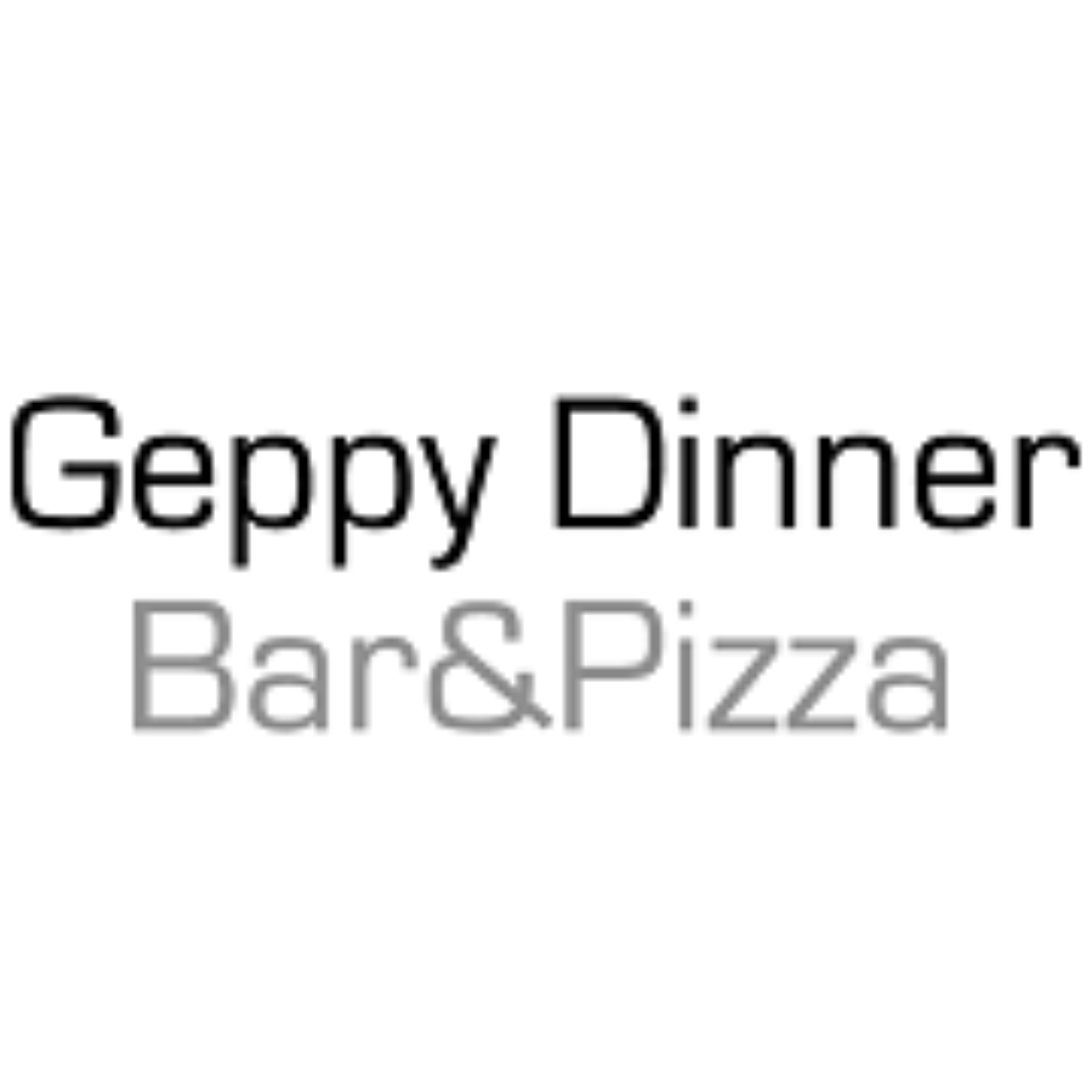 Geppy Dinner